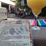 mango daiquiri. view of 5th ave