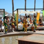 Brazil Party and dancers