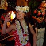 ハワイアンのフラと沖縄サウンドセッション