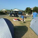 Unpowered camping area