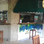 the outdoor Hemisphere Bar