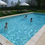 opening of the swimming season in April