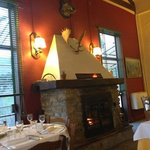 the great fire in the dinning room