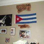 Déco Bandera de Cuba !! & El Che !!