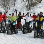 Balade groupe à gyropode Segway mobilboard Maurienne