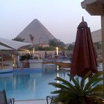 The Pyramids view from the Pool