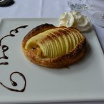 A freshly made Tarte Tatin to die for...exquisite!