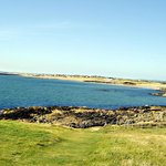 Rhosneigr from Cable Bay headland