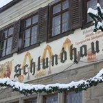 Fassade im Winter