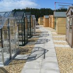 Greenhouses and Sheds.