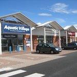 Aquatic Village & Hobbycraft Stores.