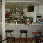 eine kleine Bar