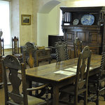 Some of the furniture on display in the 'Ynsygain' room