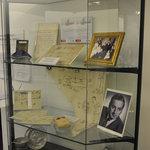 display case which changes regularly, ground floor