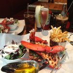 My Lobster Meal at 'Burger and Lobster', Bread Street.