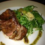 Duck breast w/arugula