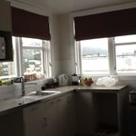 well equipped kitchen with wonderful views