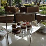 afternoon tea at Riverside Lounge
