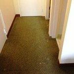 More of my room floor! Dirty!