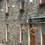 front of kirkmichael hotel