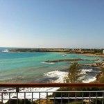 vue de la  chambre sur la mer
