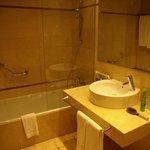 Badeværelset på Hotel Hyltor