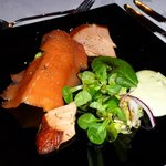 Trio smoked salmon