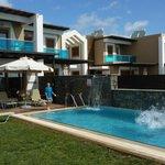 Beautiful private pool area