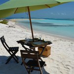 do you want a beach restaurant service  to celebrate a special day ?
