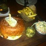 fish burger jummy!!!