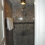 Shower stall - Ancient House resort  - this was 10% of bathroom area