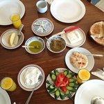 Rawda's delicious Palestinian breakfast