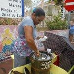 Fabrication du sorbet coco