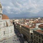 la vista dal campanile di Giotto