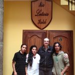 The fabulous staff at Mia Leticia (with JT)