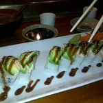 OMG Dragon Special Rolls are the best!