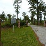 Belle Isle Plantation entrance
