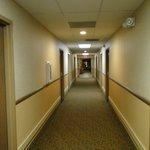 Corridor near our room