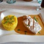 Mahi Mahi with Saffron Rice