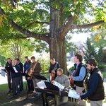 Outdoor Worship Service, Praise Team