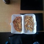 this is what we had for £4.50!