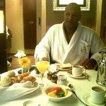 Servicio de desayuno a la habitacion