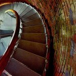 """""""Gay Head Lighthouse Stairs"""" by Jeff Serusa"""