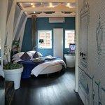 Blue Room Sleeping Area