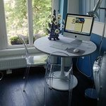 Blue Room iMac and View