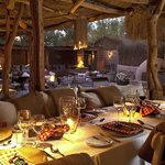 Al-fresco dining room