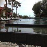 une des piscine chauffée
