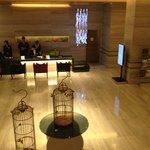 T Hotel Reception Desk