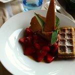 la douceur de fraises
