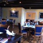 salle restaurant la coquille